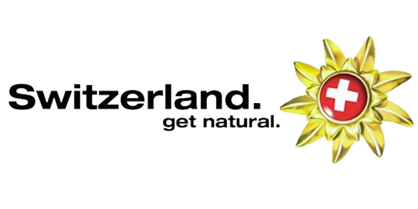 Switzerland get natural tourism logo