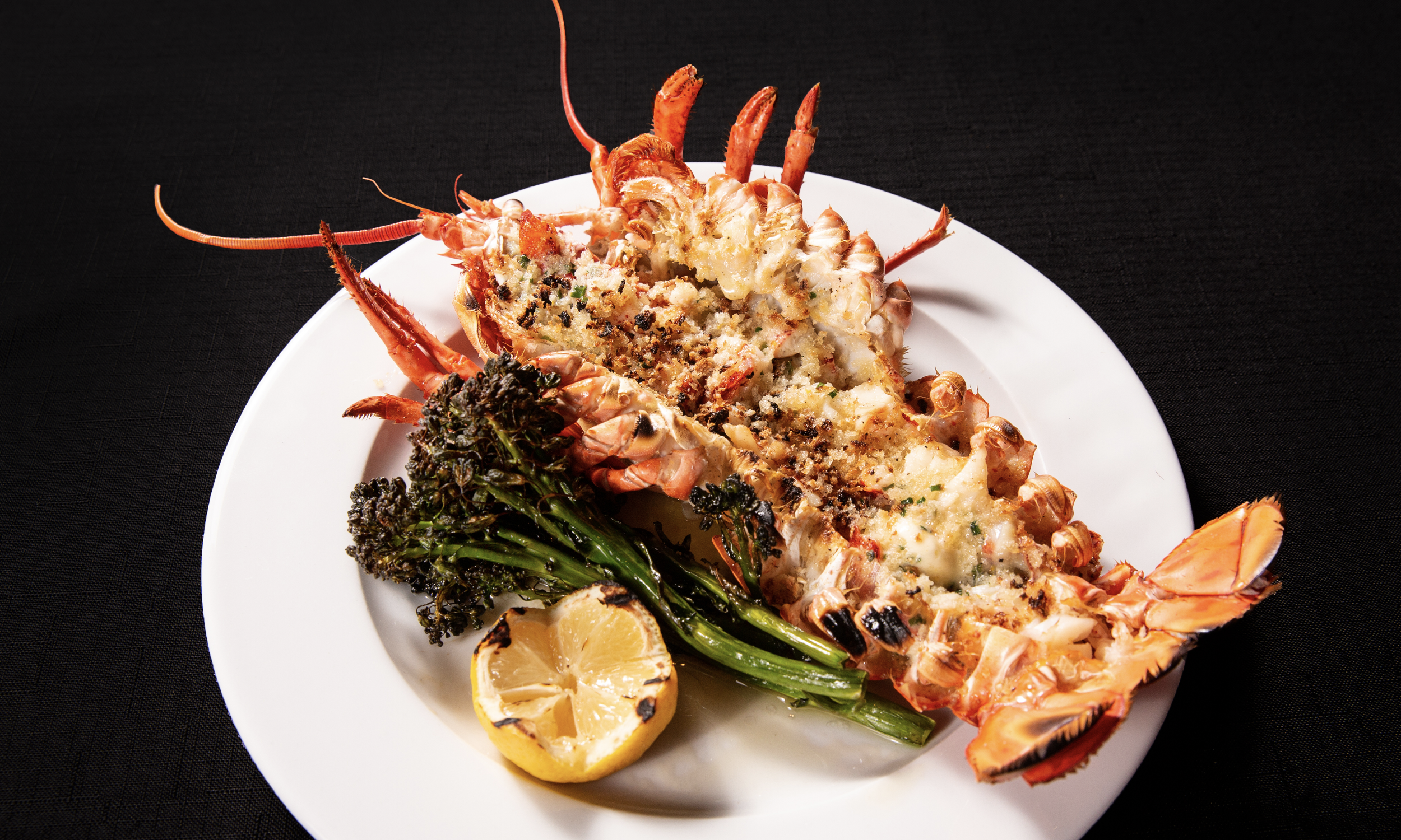 Broiled Maine Lobster
