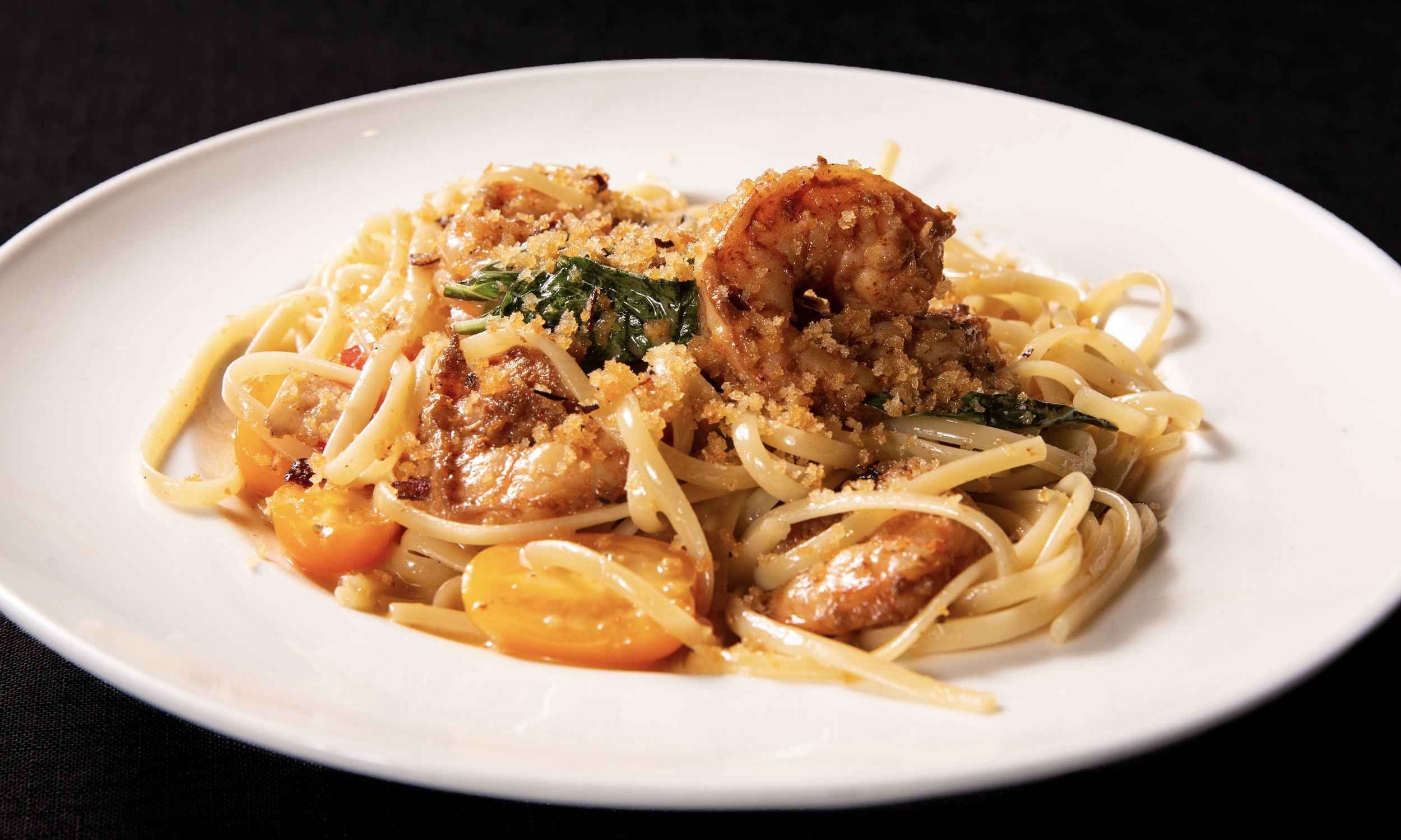 Gulf Shrimp Scampi & Linguini