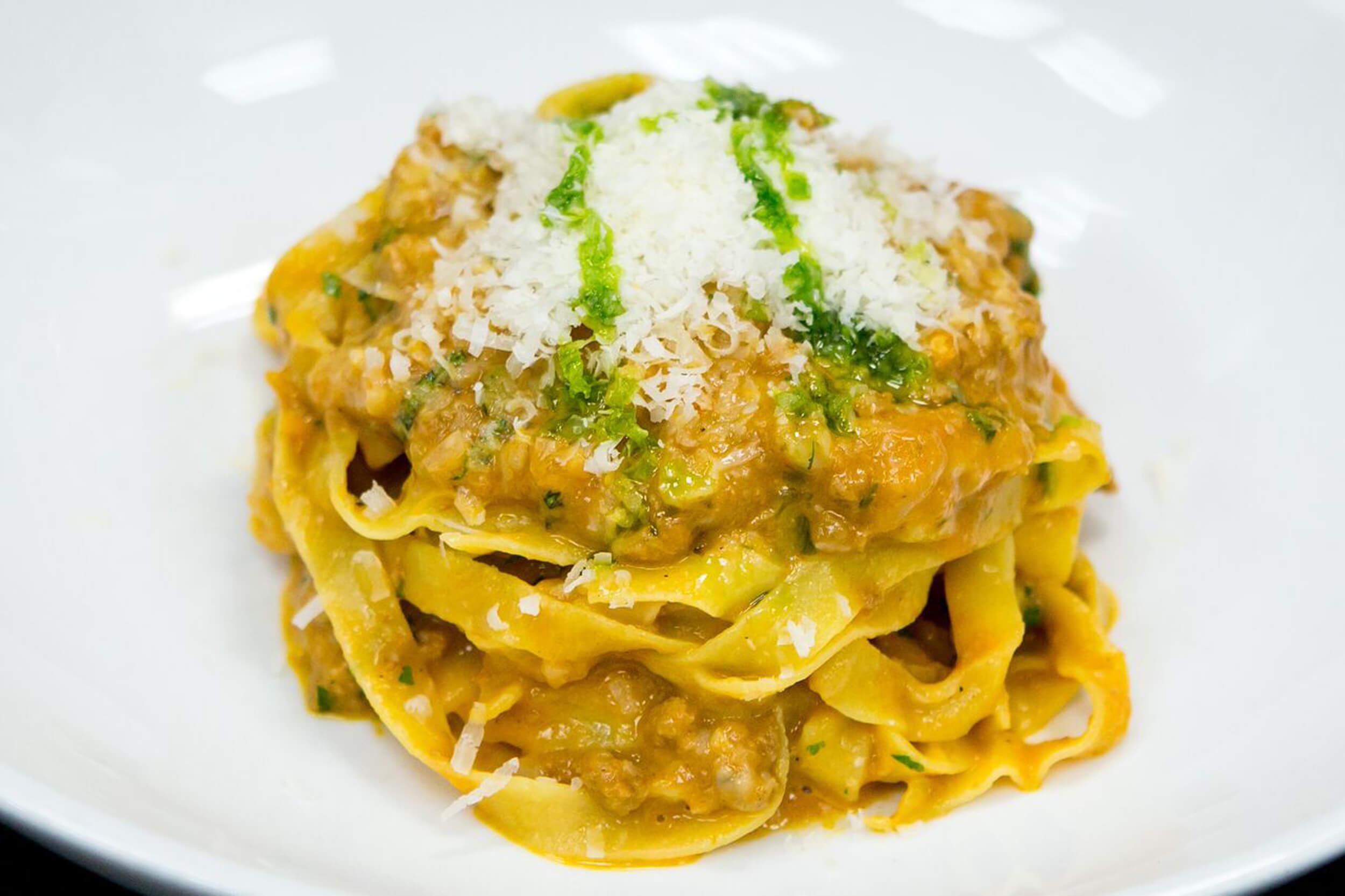 Fettuccini Bolognese