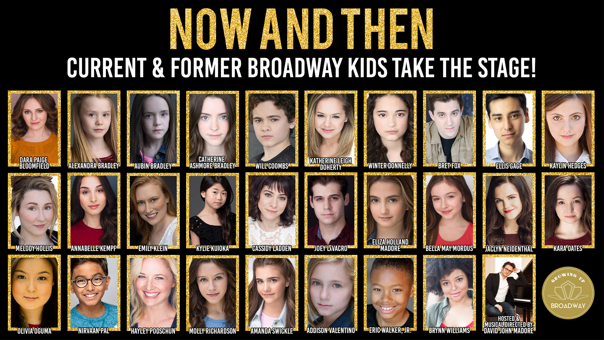 Now and Then: Current & Former Broadway Kids Take the Stage!