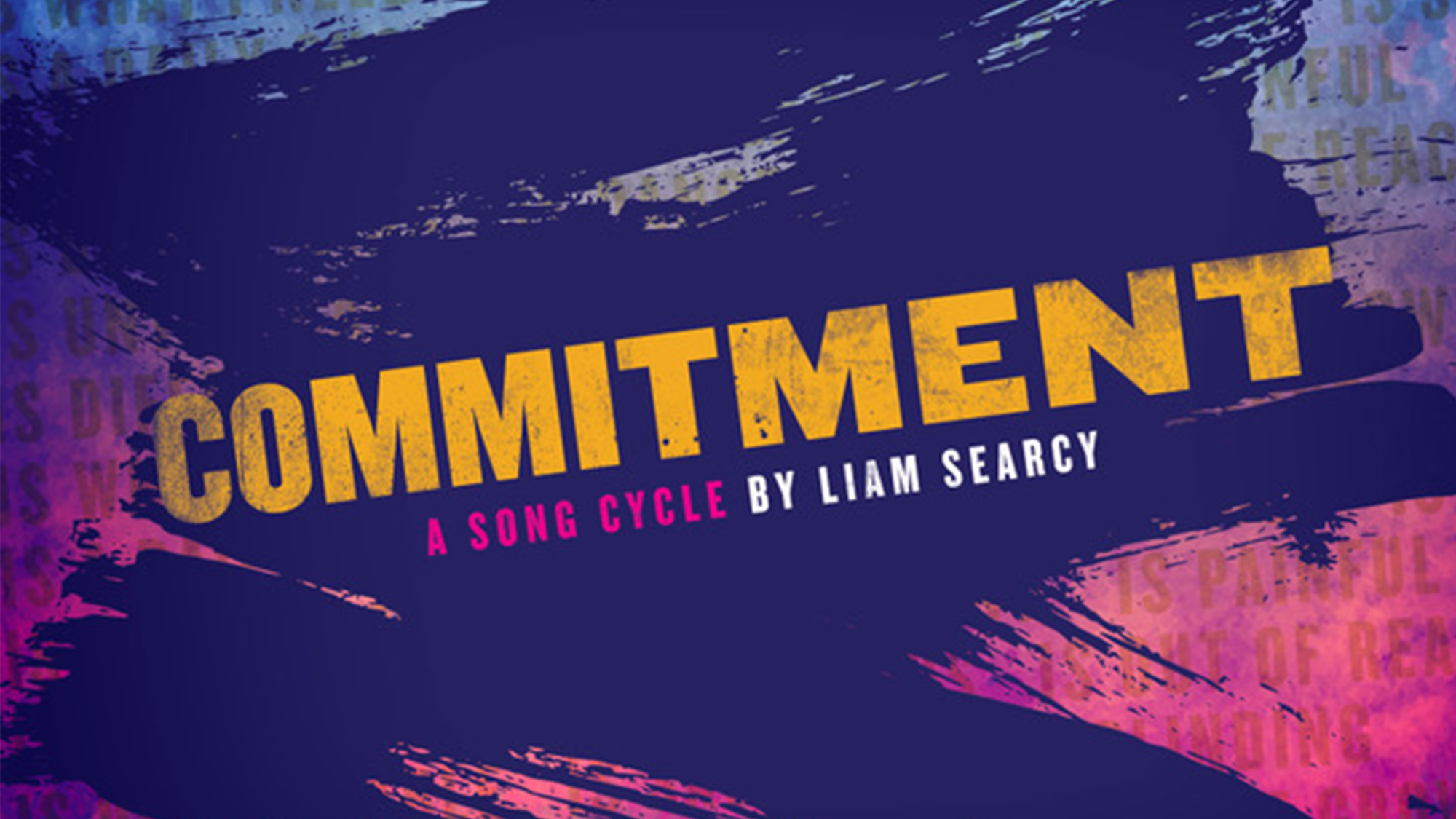 Commitment: A Song Cycle