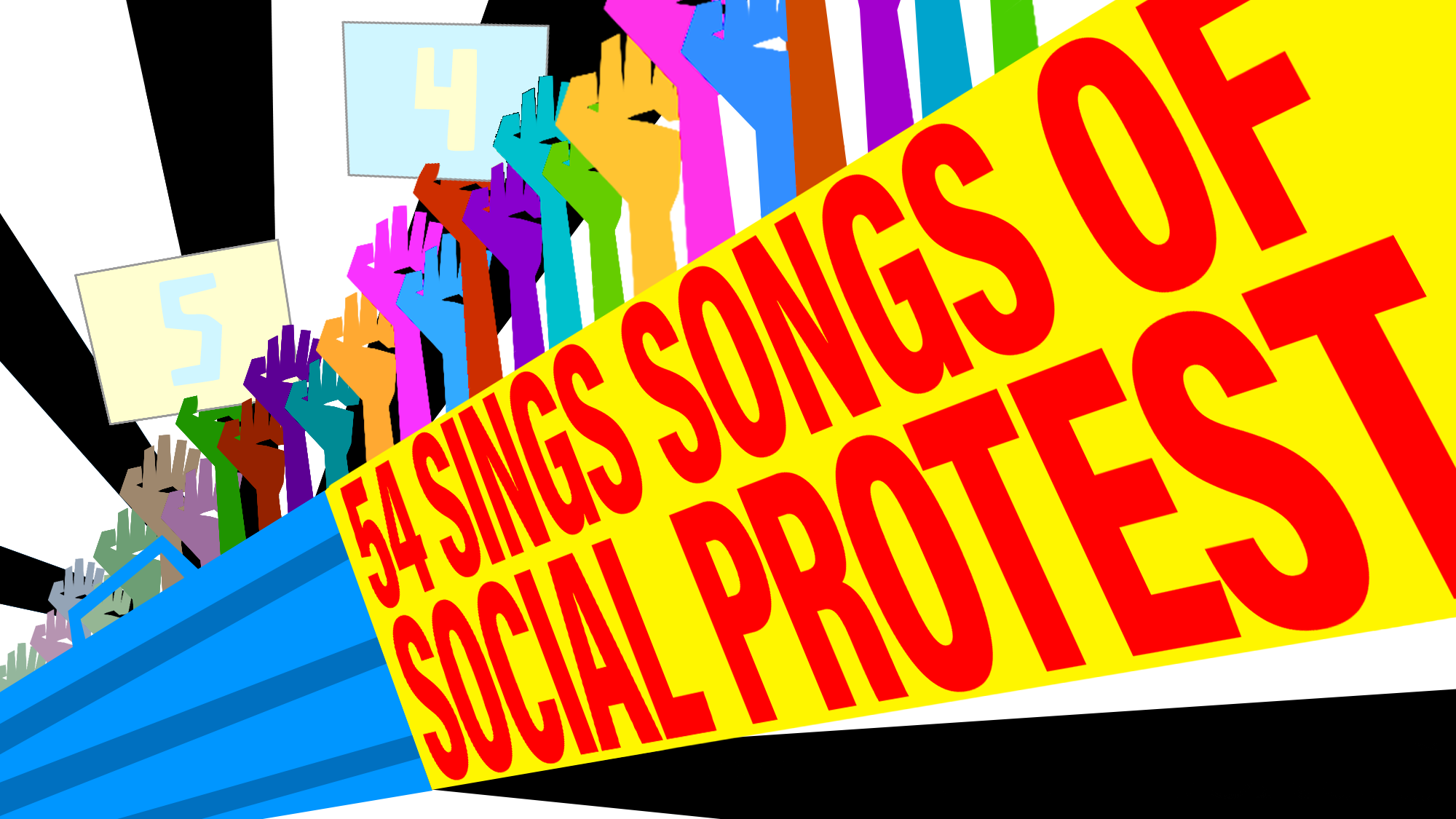 54 Sings Songs of Social Protest