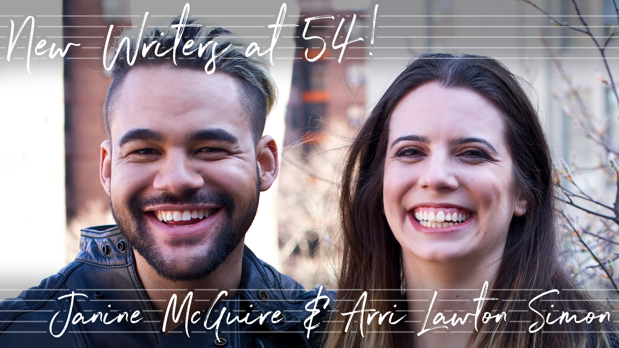 New Writers at 54! Janine McGuire & Arri Lawton Simon's Borders