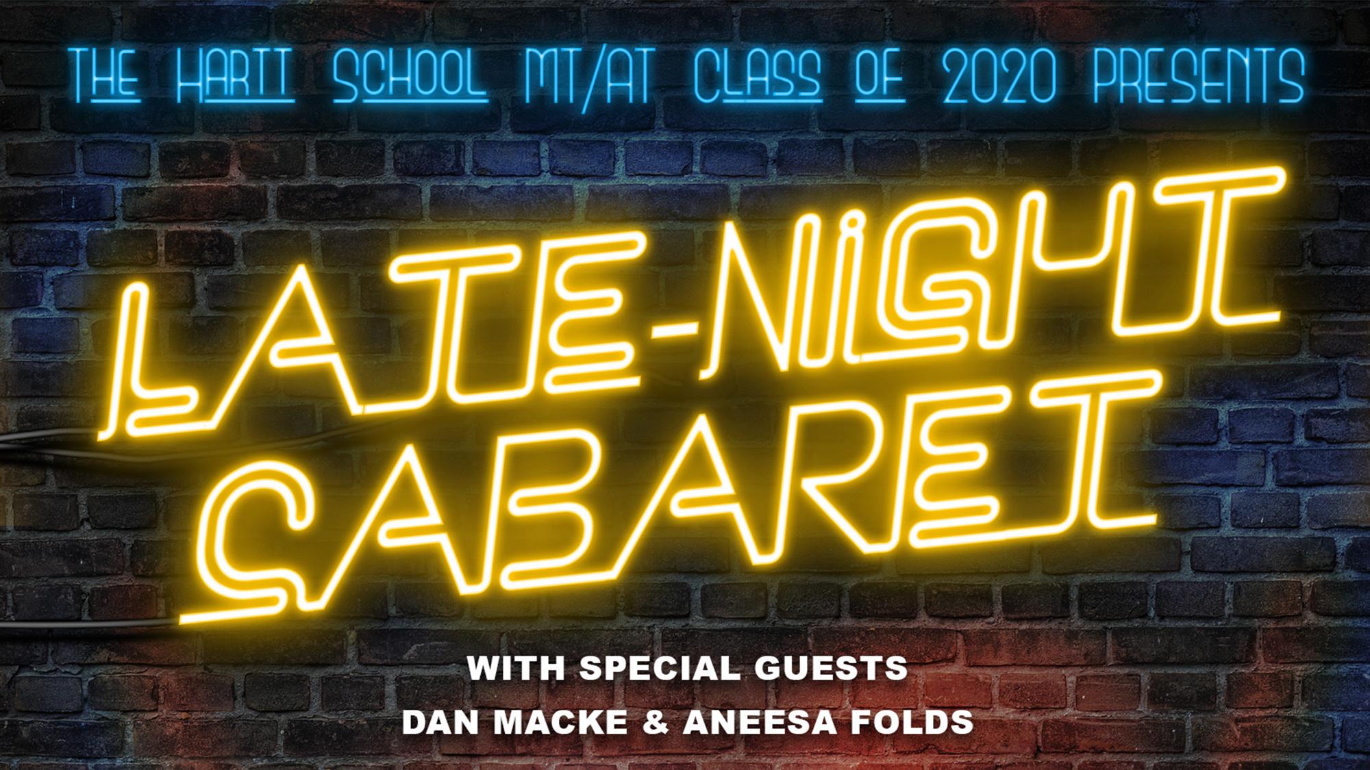 The Hartt School BFA MT/AT Class of 2020